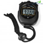 PC894 Electronic Stopwatch Large Scale Digital Running Timer Chronograph Counter Professional Sports Stop Watch