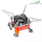 Portable Card Type Campaign Butane Gas Stove Burner