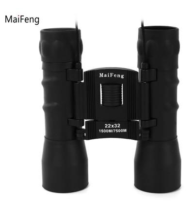 MaiFeng Children 22 x 32 Portable Night-vision Binocular Telescope (BLACK)