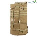 Outdoor Men Women Military Bag For Climbing Camping Hiking (KHAKI)
