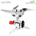 Outlife Outdoor Portable Long Tank Interface Burner Camping Gas Stove