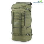 Outdoor Men Women Military Bag For Climbing Camping Hiking (ARMY GREEN)