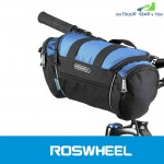 Roswheel 5L Bike Handlebar Bag Bicycle Front Tube Pocket Shoulder Pack Riding Cycling Supplies