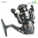 FISHDROPS  6BB 5.5:1 Plastic Spinning Fishing Reel Metal Spool