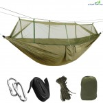 Outdoor Camping Hammock Hanging  Relaxing Sleeping Bed with Mosquito Net