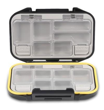 12 Compartments Waterproof Fishing Tackle Storage Box Plastic Fish Lure Bag