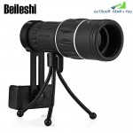 Beileshi 16x52 Monocular Telescope Dual Focus Adjusting Low Night Light Vision