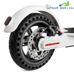 Rubber Solid Rear Tire with Hollow Design for Xiaomi M365 Electric Scooter