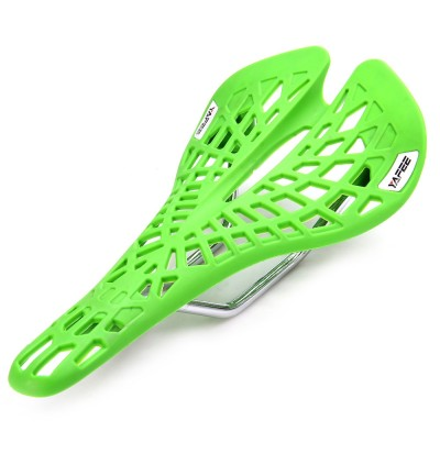 YAFEE - 1011 Sports Bike MTB Saddle Racing Bicycle Hollow Saddle Seat (GREEN)