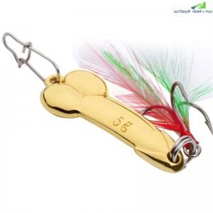 1PC Spoon Lure Metal Fishing Bait
