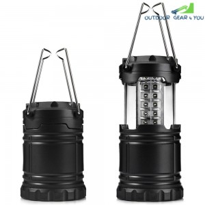 30 LED Ultra Bright Collapsible Camping Lights for Outdoor Hiking Backpacking