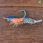 Glowing Shrimp Fishing Fluorescent Hook Sleeve Bait