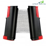 Portable Retractable Telescopic Table Tennis Net Rack Replacement Ping Pong Kit