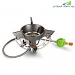 BRS - 11 Outdoor Foldable Stove Gas Burner Camping Cooker
