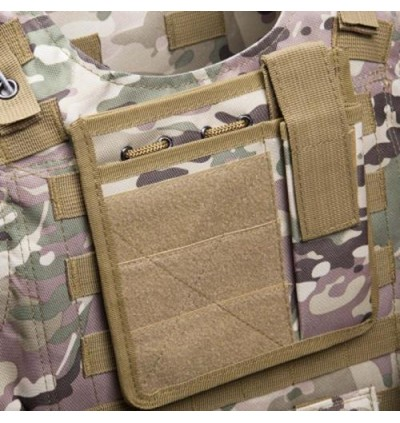 Amphibious Tactical Military Molle Waistcoat Combat Assault Plate Carrier Vest (CP CAMOUFLAGE)