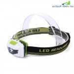 Mini Outdoor Cycling Water Resistant LED Headlight Bicycle Accessory