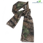 Breathable Scarf Mesh Shawl Muffler Outdoor Tool (DESERT CAMOUFLAGE)