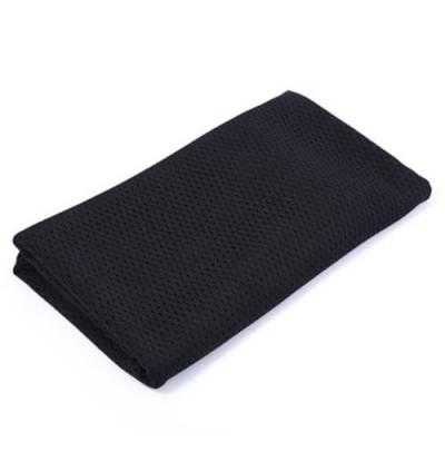 Breathable Scarf Mesh Shawl Muffler Outdoor Tool (BLACK)