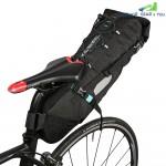 ROSWHEEL 131372 Water-resistant 10L Bike Tail Bag Bicycle Rear Pack