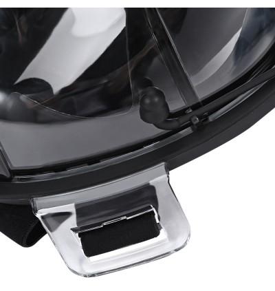 RKD Anti-fog Detachable Dry Snorkeling Full Face Mask Set