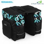 Roswheel 30L Double Pannier Pack Bicycle Rear Rack Bag