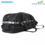 ROSWHEEL 8L Multifunctional Double Layer Bike Rear Seat Bag