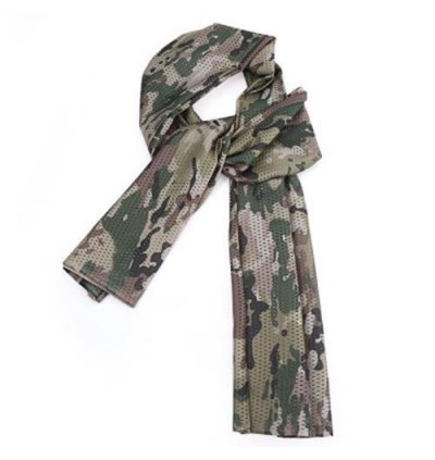Breathable Scarf Mesh Shawl Muffler Outdoor Tool (CAMOUFLAGE)