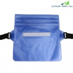 Waterproof PVC Waist Bag Pouch with Adjustable Belt