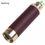 MaiFeng 25 x 30 Roof BAK - 4 Prism Monocular Brass Color Pirate Style