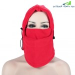 NUCKILY Multifunctional Winter Windproof Fleece Outdoor Cycling Hat Face Mask Neck Warmer