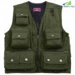 Outdoor Multi-pocket Fishing Clothing Vest