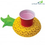 Mini Pineapple Cup Holder Drink Boat for Summer Pool Hawaii Party