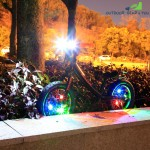 3 Change Modes of Bicycle Lamp LED Flash Lamp Spoke Lamp