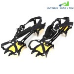 Aotu AT8701 Pair of Outdoor Anti-slip 10-tooth Ice Claw Climbing Shoes Covers