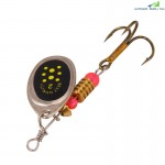 Rotating 5.5CM 3.1G Fishing Lure Metal Sequins Bait Hook