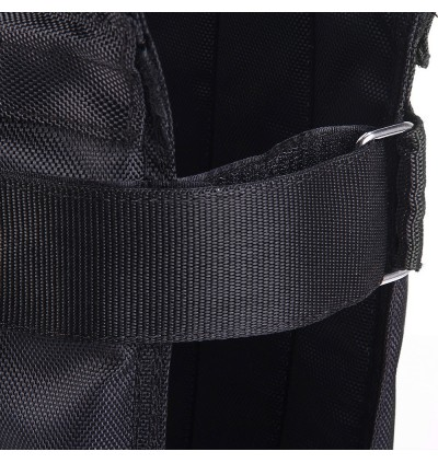 10kg Max Loading Weighted Vest Adjustable Jacket Exercise Boxing Training Waistcoat