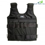 10kg Max Loading Weighted Vest Adjustable Jacket Exercise Boxing Training Waistcoat