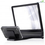 3D Phone Screen Amplifier Magnifying Glass HD Stand for Video Bicycle Holder Car