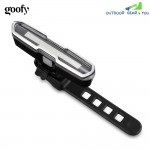 goofy USB Rechargeable Bicycle Light Li-Po Battery LED Bike Taillight