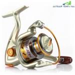 NACATIN Spinning Reel Fishing Gear Fixed Spool Novice Beginner Angler Saltwater Freshwater Ball Bearing