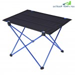 DK - 1 Aluminum Alloy Table Folding Desk Outdoor Camping Accessory