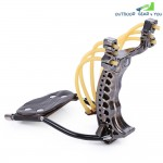 Powerful Slingshot Rubber Bands Wrist Catapult Outdoor Equipment