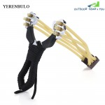 yerenbuluo Hunting Stainless Steel Powerful Slingshot Catapult