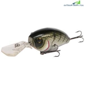 A FISH LURE Artificial Hard Bait Fishing Supplies (BLACK)