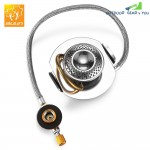 BULin Mini Portable Stainless Steel Propane Gas Stove Split Burner for Outdoor Cooking