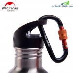 NatureHike 6cm Type-D Alloy Quick Release Buckle Multifunctional Safety Lock(Black)