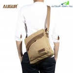 Augur 9088 Canvas Cross Body Single Shoulder Laptop Bag with Durable Strap