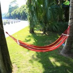 Water Resistant Trapeze Hammock Swing Anti-rollover Sleep Bed