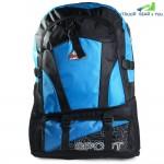 Double Shoulder Bag Camping Backpack Lightweight Back Bag(Blue)
