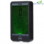 SD - 576C Waterproof Large Screen Mode Touch Wireless Bike Computer Speedometer with LCD Backlight
